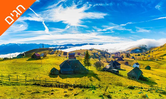 9 טיול מאורגן בבוקרשט, הרי הקרפטים וחבל טרנסילבניה, כולל חגים