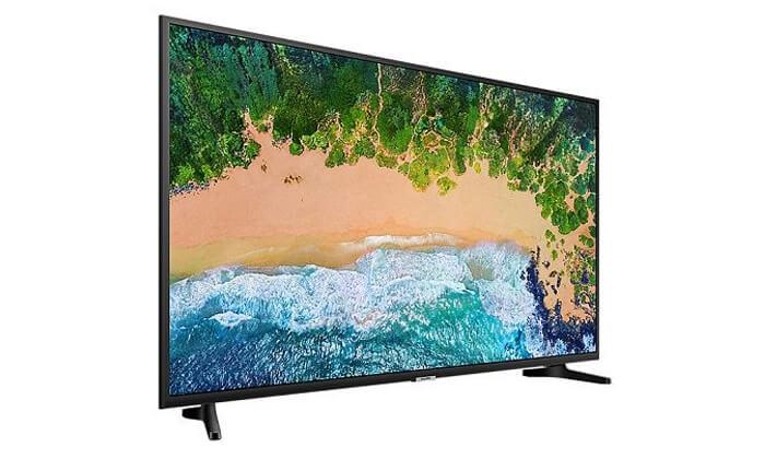 3 טלוויזיה SMART 4K SAMSUNG, מסך 55 אינץ'
