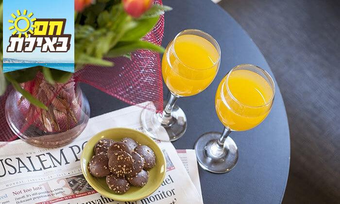 2 ארוחת בוקר או צהריים כשרה במלון לאונרדו קלאב, אילת