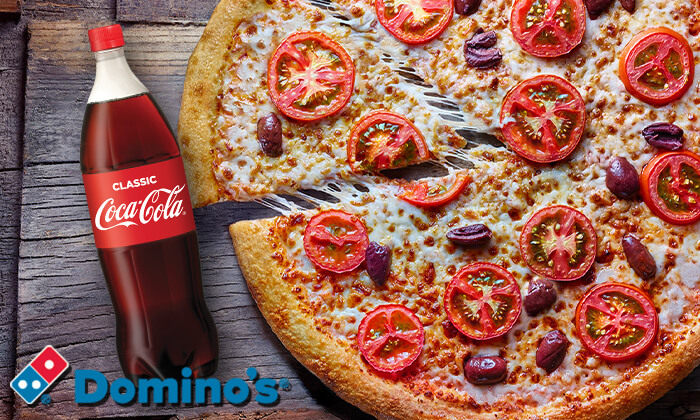 3  Dominos Pizza - דומינו'ס פיצה: 2 פיצות אישיות באיסוף מכל סניפי הרשת