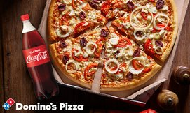 2 פיצות אישיות בדומינו'ס פיצה
