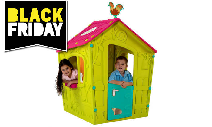 4 כתר: בית משחק לילדים בעיצוב טירה