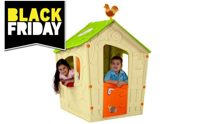 3 כתר: בית משחק לילדים בעיצוב טירה