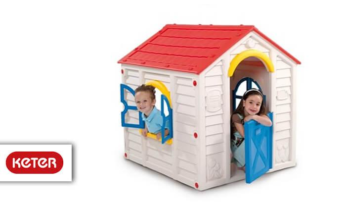 2 כתר: בית משחק מעוצב לילדים