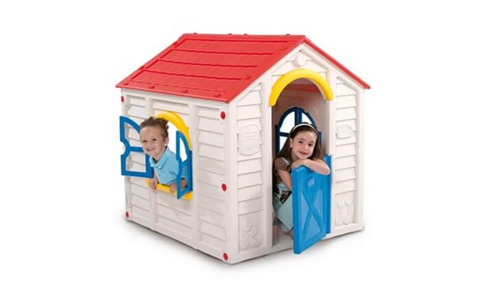 4 כתר: בית משחק מעוצב לילדים