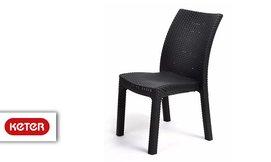 זוג כסאות פלסטיק ארוגים, כתר