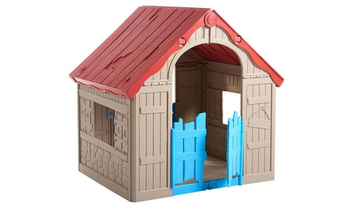 3 כתר: בית משחק מתקפל לילדים