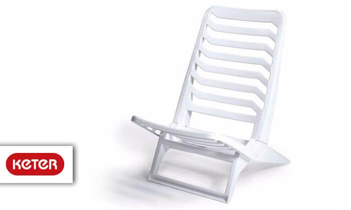 2 כתר: שישיית כסאות פלסטיק לים