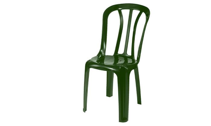 4 כתר: שישיית כסאות פלסטיק