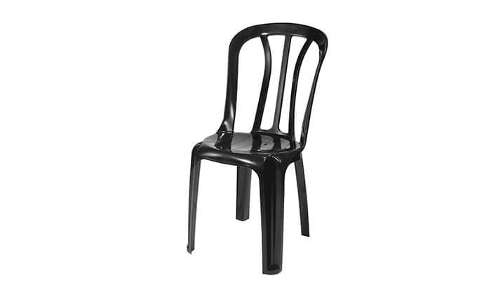 5 כתר: שישיית כסאות פלסטיק