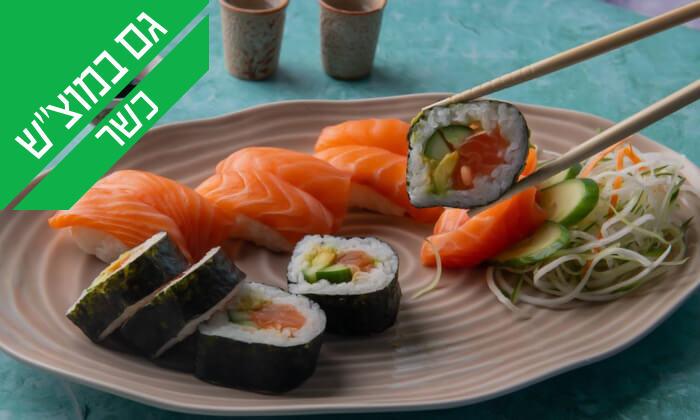 6 ארוחה יפנית כשרה בטמפופו סושי בר, תל אביב