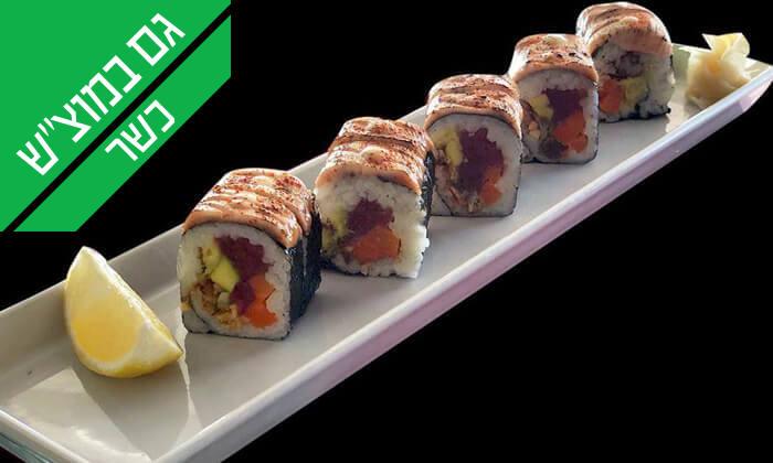 9 ארוחה יפנית כשרה בטמפופו סושי בר, תל אביב