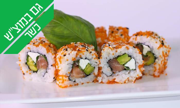 10 ארוחה יפנית כשרה בטמפופו סושי בר, תל אביב