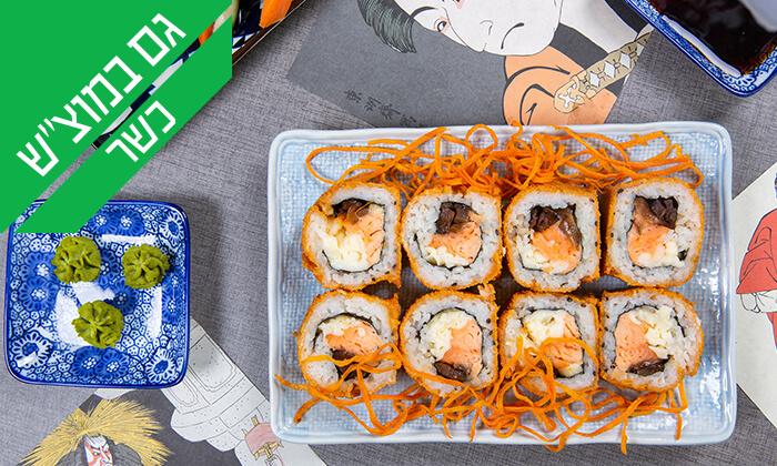 5 ארוחה יפנית כשרה בטמפופו סושי בר, תל אביב