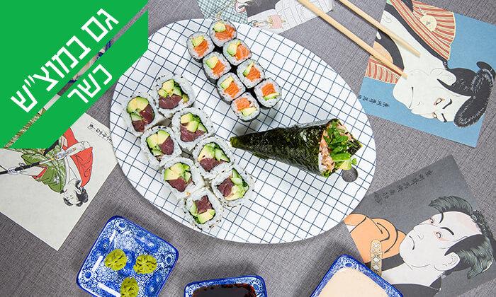 12 ארוחה יפנית כשרה בטמפופו סושי בר, תל אביב
