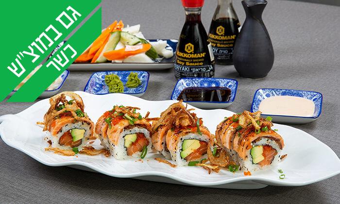 3 ארוחה יפנית כשרה בטמפופו סושי בר, תל אביב