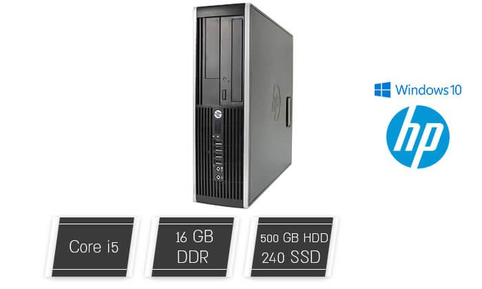2 מחשב גיימינג נייח HP עם כרטיס מסך GeForce