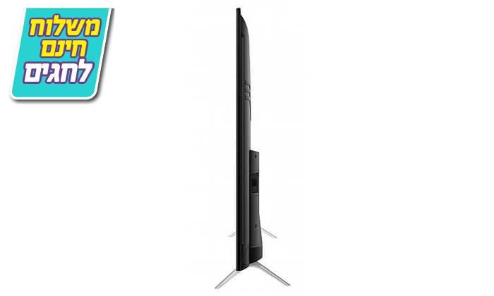 3 טלוויזיה חכמה 4K TCL, מסך 55 אינץ' - משלוח חינם
