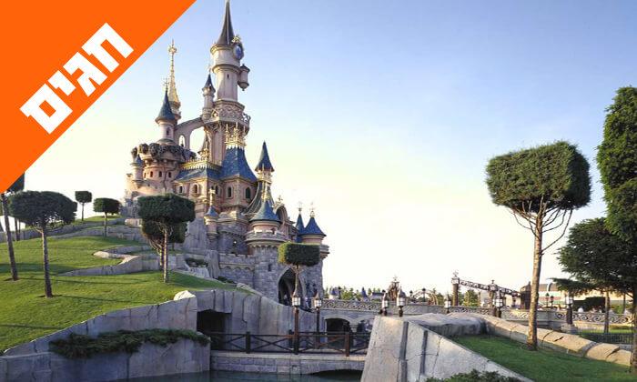 4 שבועות בפריז - כולל כניסה לפארקי Disneyland ל-3 ימים