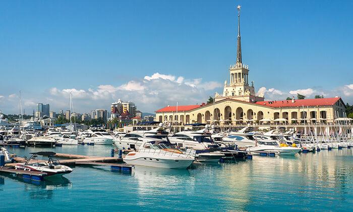 4 בין הרי הקווקז וחופי הים השחור - טיול מאורגן בריביירה הרוסית