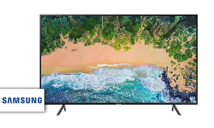 2 טלוויזיה חכמה 4K SAMSUNG, מסך 43 אינץ'