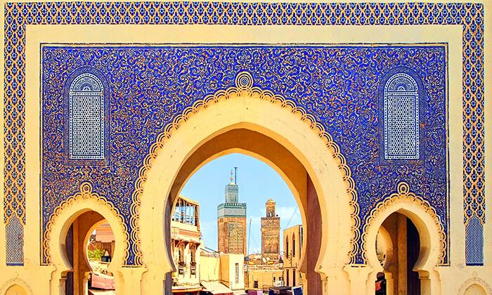 4 טיול מאורגן למרוקו - מרקש, פס, מקנס, ראבט, קזבלנקה ועוד