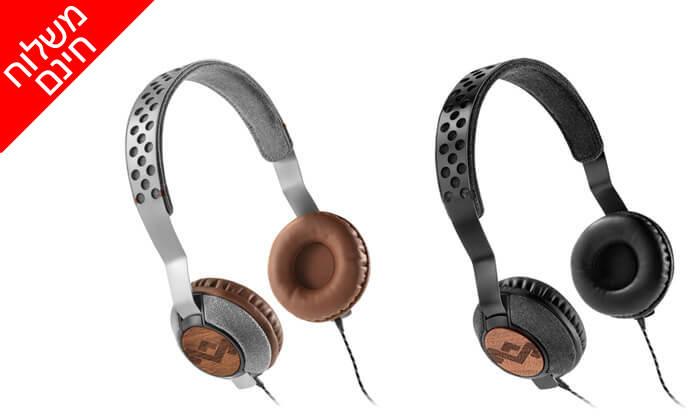 2 אוזניות חוטיות מארלי MARLEY - משלוח חינם!