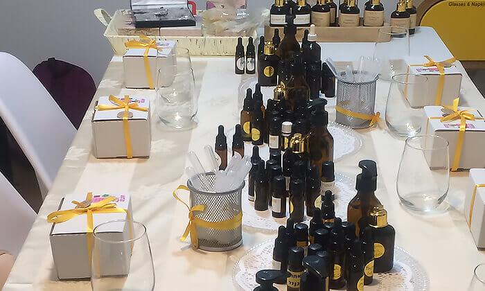 5 סדנאות להכנת בושם טבעי ומוצרים טבעיים לטיפוח הגוף, LALINE RISS תל אביב