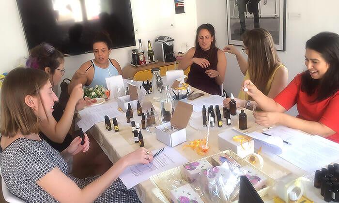 7 סדנאות להכנת בושם טבעי ומוצרים טבעיים לטיפוח הגוף, LALINE RISS תל אביב