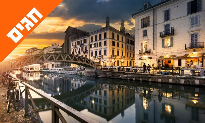6 טיול מאורגן באיטליה הקלאסית - רומא, מילאנו, פיזה, שייט באגם גרדה ועוד, כולל חגים