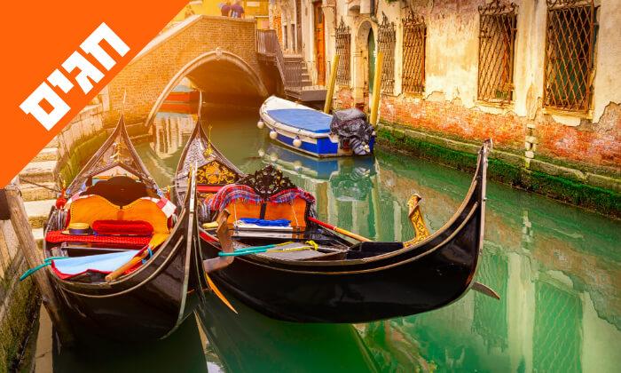 7 טיול מאורגן באיטליה הקלאסית - רומא, מילאנו, פיזה, שייט באגם גרדה ועוד, כולל חגים