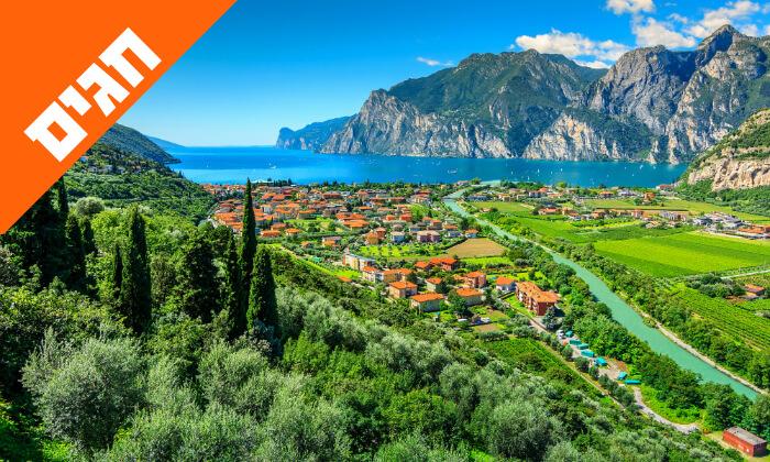 9 טיול מאורגן באיטליה הקלאסית - רומא, מילאנו, פיזה, שייט באגם גרדה ועוד, כולל חגים