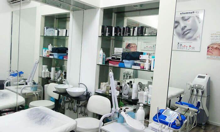 4 טיפולי פנים בקליניקת 'קוסמטיקה בעין רפואית', פתח תקווה