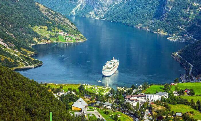 7 טיול מאורגן 8 ימים לנורבגיה והפיורדים - מפלסטורסטרפוסן, רכבל בסטרנדה, קניון בורדלן ועוד