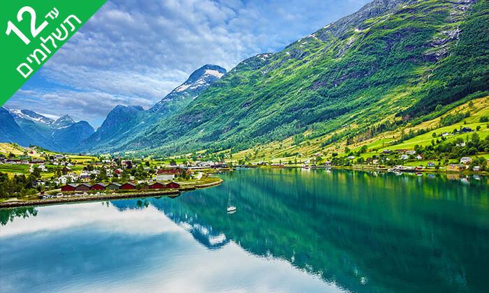 3 טיול 8 ימים לנורבגיה והפיורדים - מפלסטורסטרפוסן, רכבל בסטרנדה ועוד