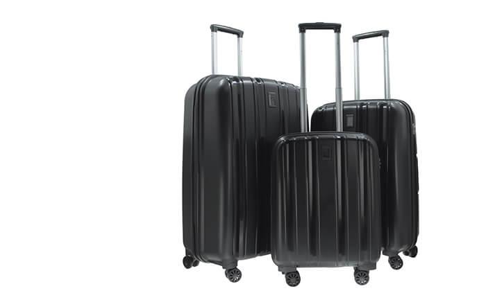 3 סט 3 מזוודות קשיחות SWISS