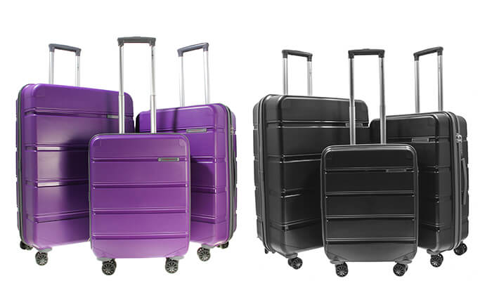8 סט 3 מזוודות קשיחות SWISS
