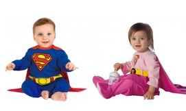 תחפושת סופרמן/סופרוומן תינוקות