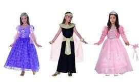 תחפושות נסיכות ומלכות לילדים