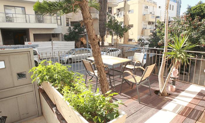 6 חופשה במרכז העיר הכי תוססת בארץ, בקרבת חוף הים,חנויות, ברים ומסעדות