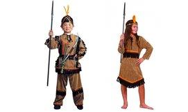 תחפושת אינדיאני לילדים ולילדות
