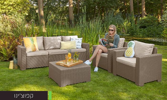 3 כתר: מערכת ישיבה לחצר ולגינה