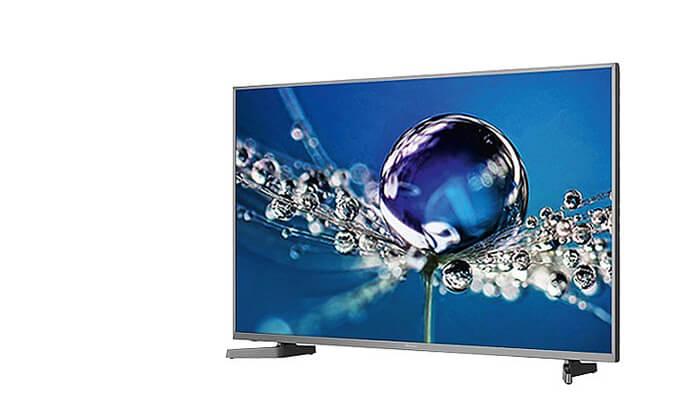 2 טלוויזיה חכמה Hisense 4K, מסך 50 אינץ'