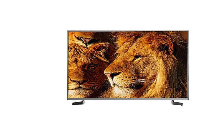2 טלוויזיה חכמה Hisense 4K, מסך 65 אינץ'