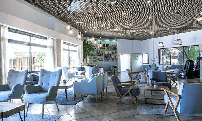 8 מלון רמת רחל מול הנופים של הרי יהודה, כולל 2 טיפולי ספא ופינוקים