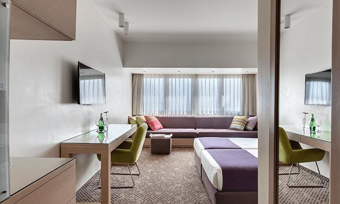 5 מלון רמת רחל מול הנופים של הרי יהודה, כולל 2 טיפולי ספא ופינוקים