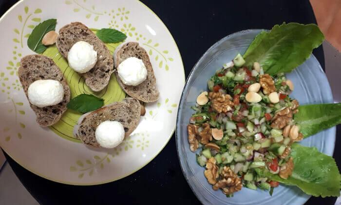 13 ארוחת בוקר זוגית ב-zizo cafe דרך שלמה תל אביב