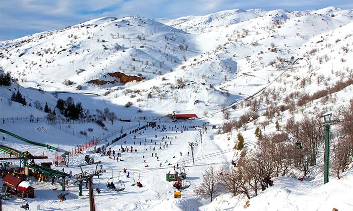 3 קופון לחרמון: כרטיס סקי יומי כולל ציוד
