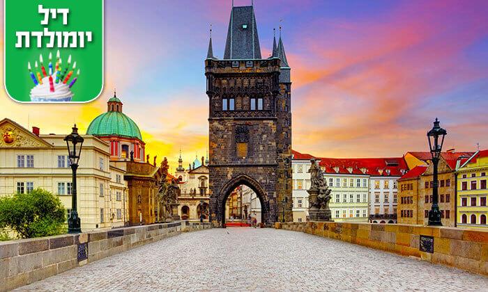 """4 חופשת חורף בפראג - אדריכלות, שופינג, מסעדות ומלון מומלץ, כולל סופ""""ש"""