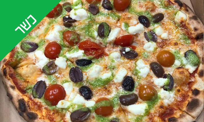 4 פיצה משפחתית - פיצה בלה, אשדוד